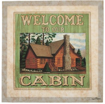 lodge home decor canvas print dan morris cabelas